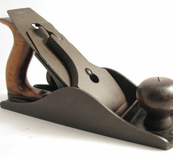 Early Stanley heavy smooth plane # 4 1/2 Triple Date