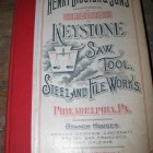HENRY DISSTON 1904 SAW CATALOGUE & BROCHURES