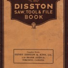Disston Saw Tool & File Book Toronto 1927