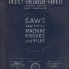 1953 SHURLY DIETRICH ATKINS MAPLE LEAF SAW DEALER CATALOG GALT