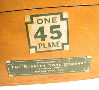 STANLEY 45 PLANE MADE IN CANADA SWEETHART IN BOX